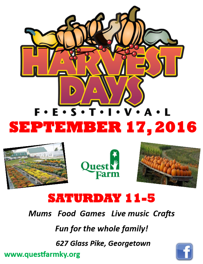 Harvest Day Flyer 2016
