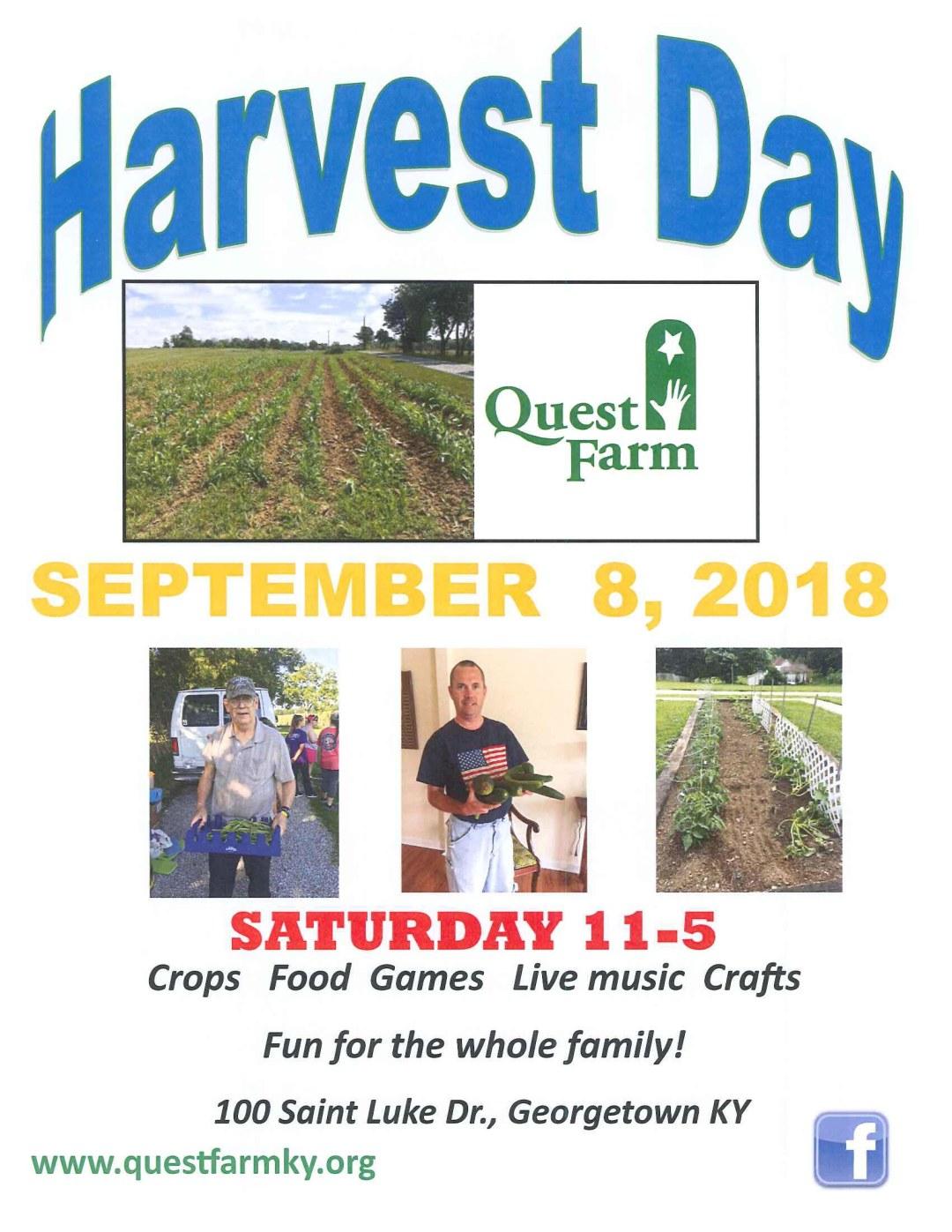 Harvest Day flyer